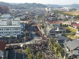Karatsu Kunchi Day Parade