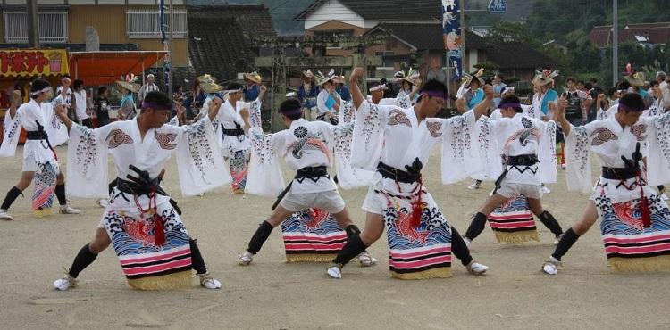 高瀬の荒踊り 2-1